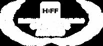 HIFF - Golden Cine Laurel (White on Blac