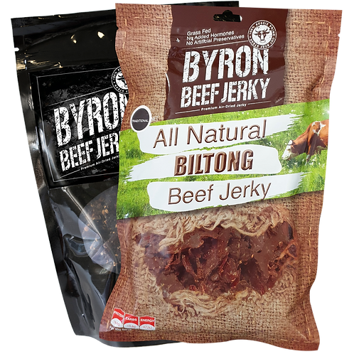 BEST OF BOTH WORLDS---500g Biltong and 500g Jerky---