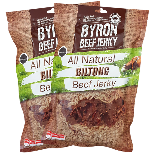 2 X 500G Shaved Fatty Biltong-PALEO DELIGHT
