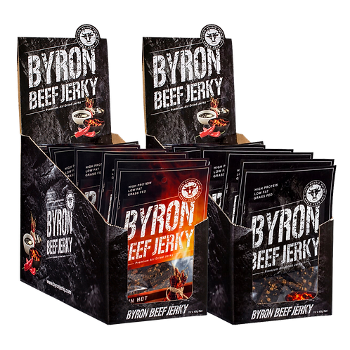 2 Byron Jerky Gift Boxes - NICE SAVING NOW $87.12 DOWN FROM $99