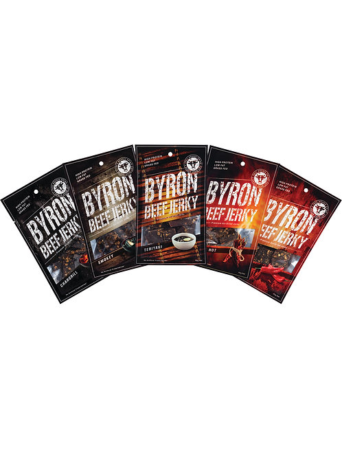 Byron Beef Jerky Show Bag