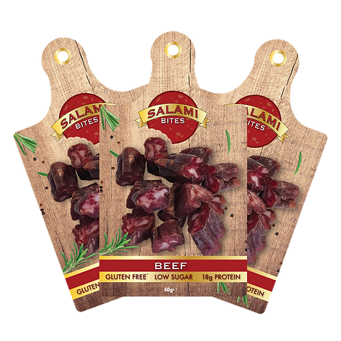 15 x 40g Salami Bites  NEW & TASTY BITE SIZE MORSELS
