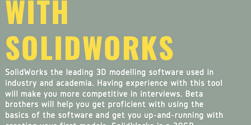 3D Design: Getting Started with SolidWorks