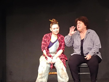 Charity with Deb in rehearsal.jpg