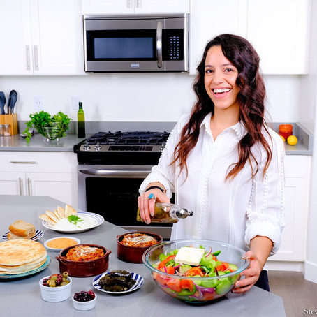 Eleni Saltas, Greek Food Blogger