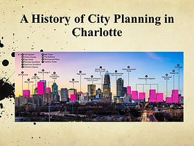 Historical Impacts of City Planning in C