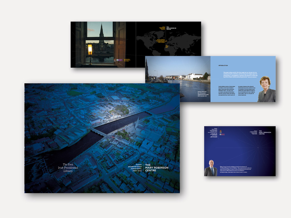click to see more brochure designs