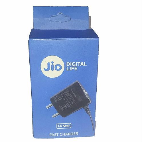 LYF Charger for Jio Phone and Other Basic Feature Phone (1.5A, Black