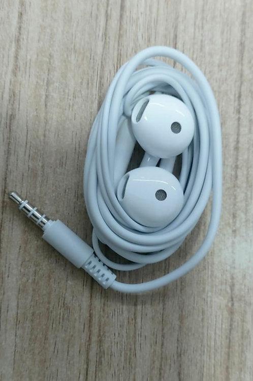 Stereo Vivo Handsfree InEar Earphone with mic White