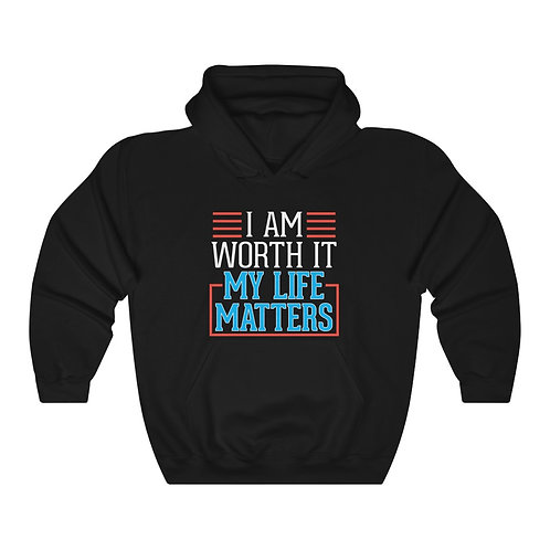 My Life Matters Unisex Heavy Blend Hoodie