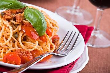 Spaghetti Variationen im Restaurant ROMA Naters Wallis Schweiz.