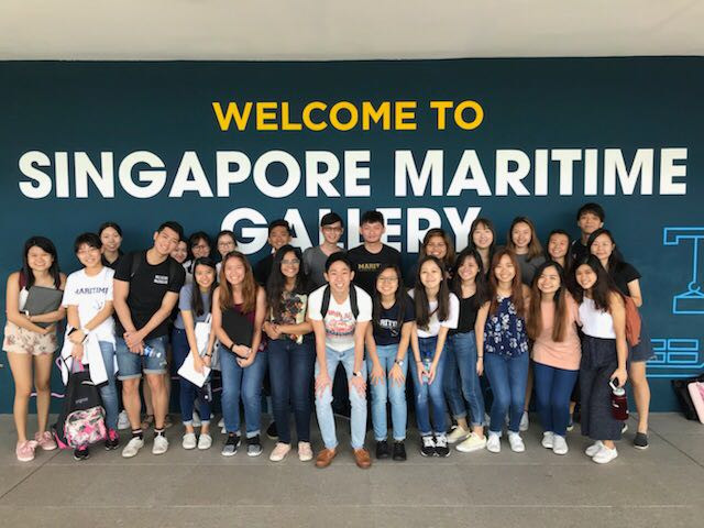 Learning Journey Tour to Singapore Maritime Gallery & Port Operations Control