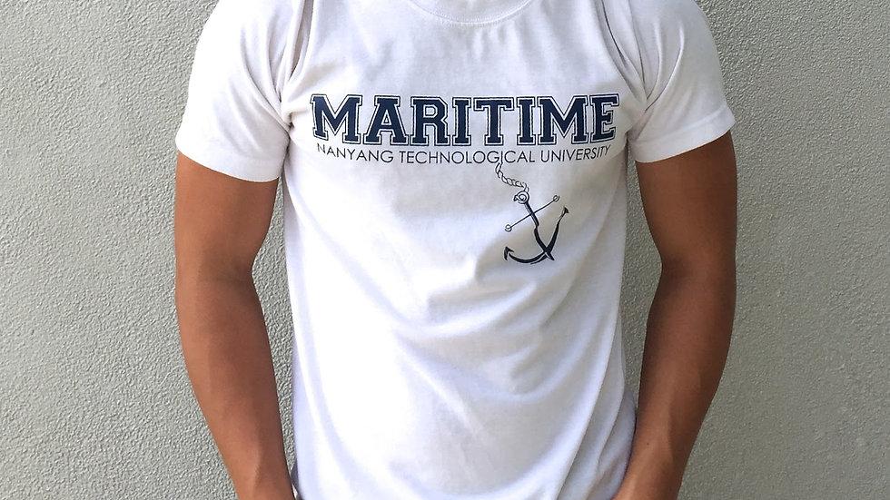 Maritime Studies Shirt (White, Cotton)
