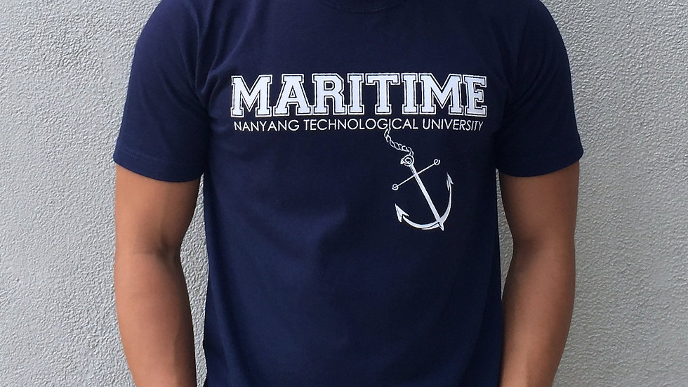 Maritime Studies Shirt (Dark Blue Cotton)