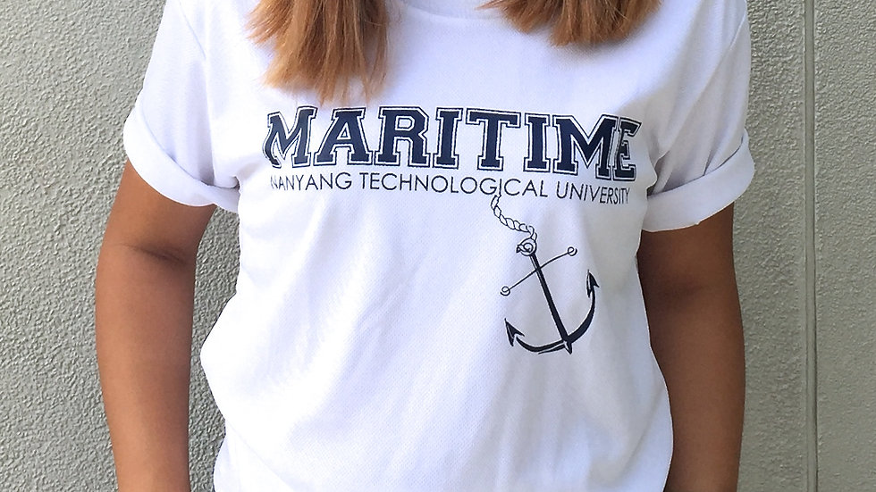 Maritime Studies Shirt (White Dry Fit)