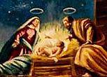 Nativity scene, Holy Family Catholic Church, Detroit