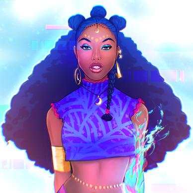 Bobika Sci Fi Queen