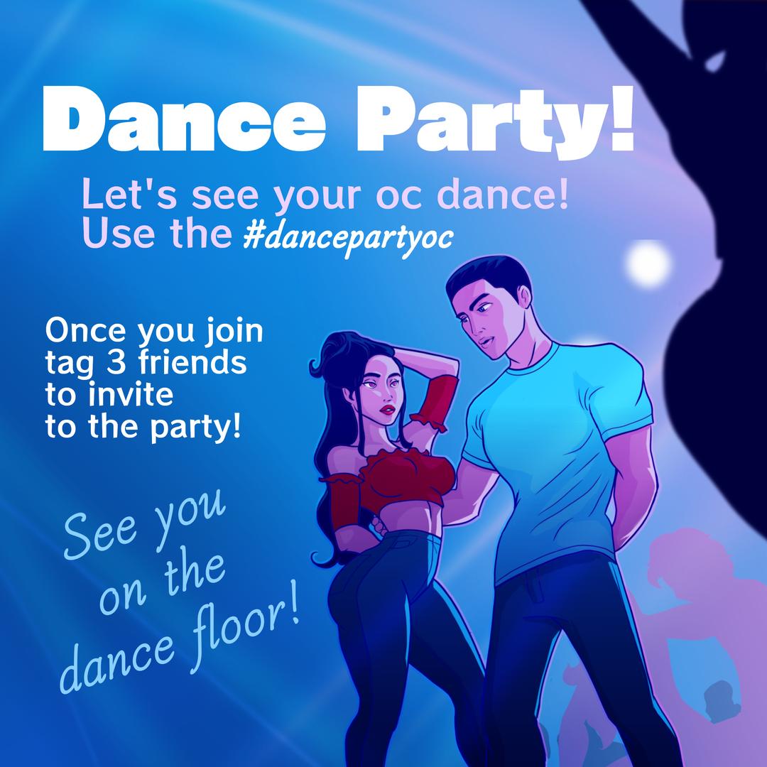 Dance Part Invite
