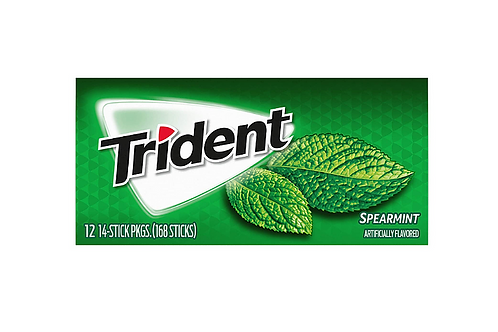 Trident Gum, Spearmint, 15 ct.