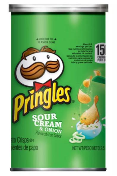 _ Pringles, Sour Cream & Onion, 12 ct.
