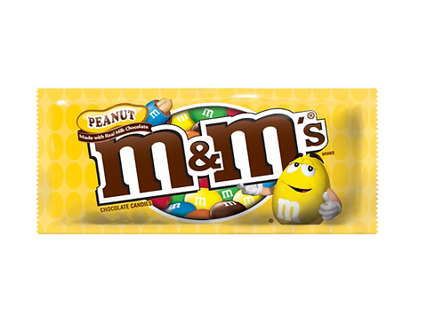 _ M&M, Peanut Chocolate Candies, 24 ct.
