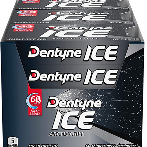 Dentyne Ice Gum; Arctic Chill, 12 ct.
