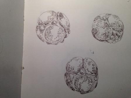 drawing dark objects