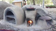 קורס בניית תנור אדמה