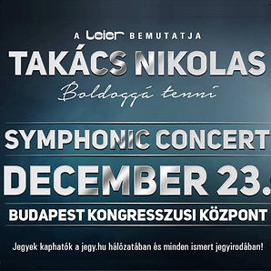 Takács Nikolas concert event