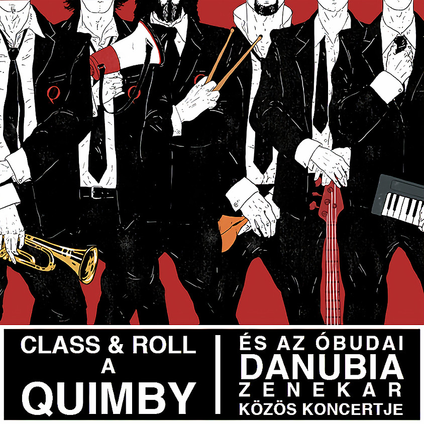 QUIMBY and the Obuda Danubia Symphonic Orchestra concert