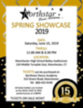 8.5 X 11 Spring Showcase 2019 15th Anniv