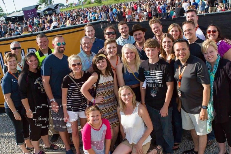 Gentlemen of the Road Festival with Mumford and Sons, 2015 - Waverly, IA