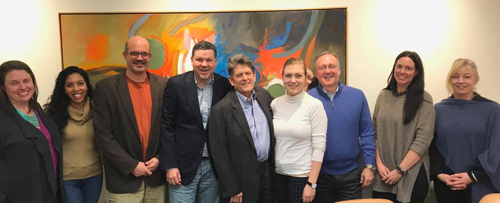 Create the Vote 2018: Gubernatorial Candidate Bob Massie Meets with MASSCreative Leadership Council