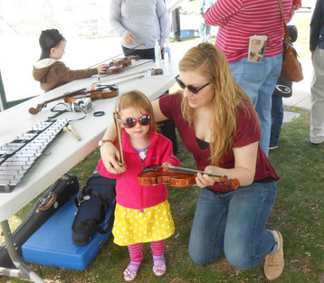 Waverly Symphony Orchestra Instrument Petting Zoo
