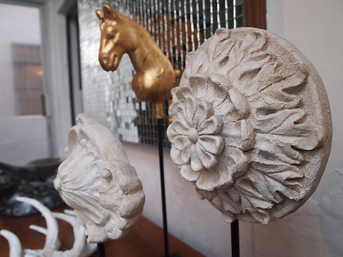 Flor esculturas