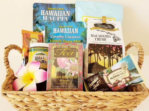 Hawaiian Breakfast Gift Basket - Small