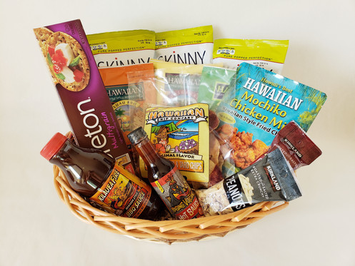 Salty and Spicy Gift Basket