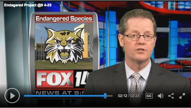 Endangered Species on the News