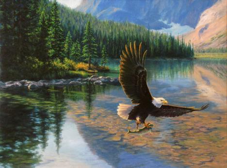 Clear Lake Prize – Original Artwork.