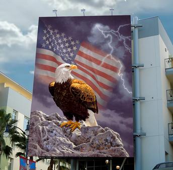 Patriotic Billboard