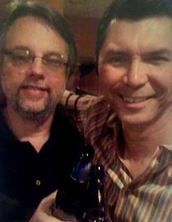 Dean with Lou Diamond Phillips