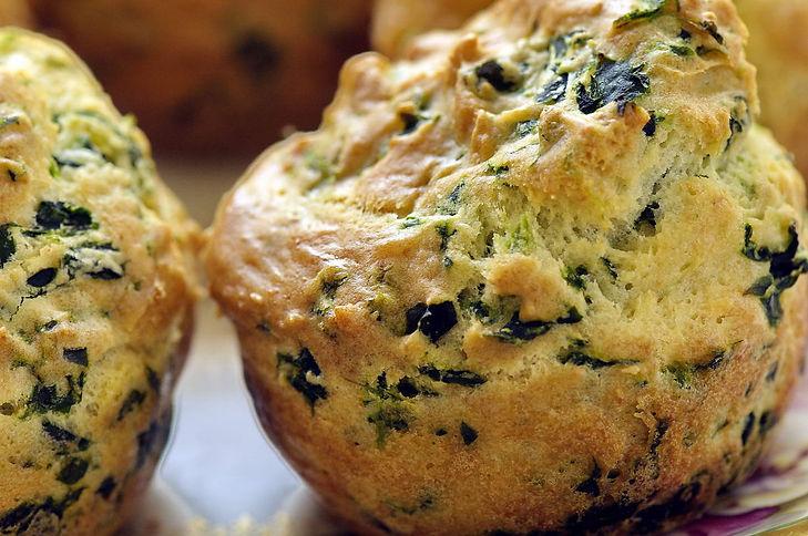 Gluten Free Spinach Ricotta Muffins