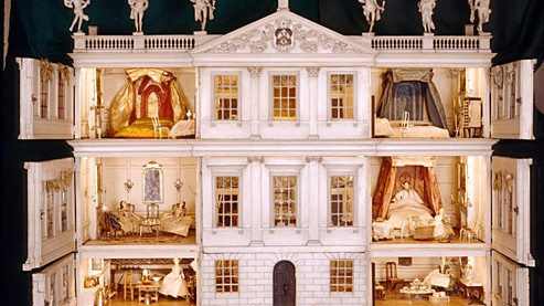 Uppark 18th Century Doll's House