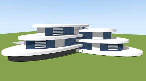 House DS3457 Plans & Model
