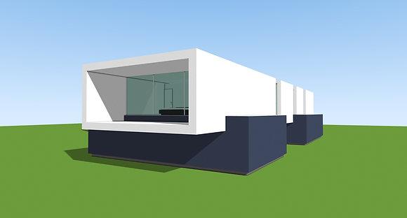 House HS3918 Plans & Model