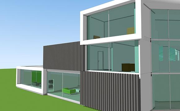 House PR4060 Plans & Model