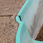 Fiberglass bulge and crack repairs