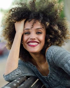 Happy Lady