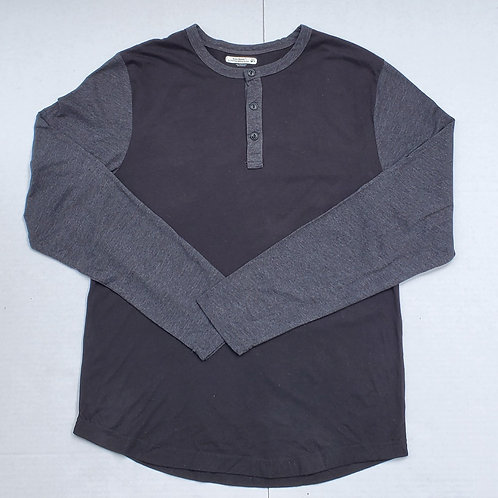 Two-Toned Jersey Long Sleeve T-Shirt