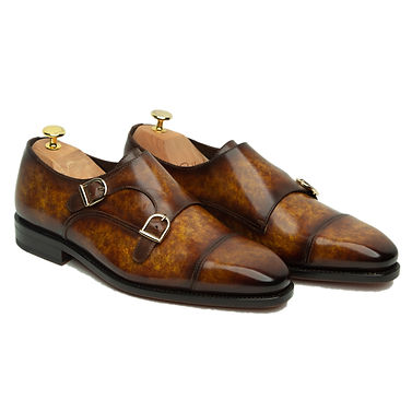 Marble Patina Double Monks
